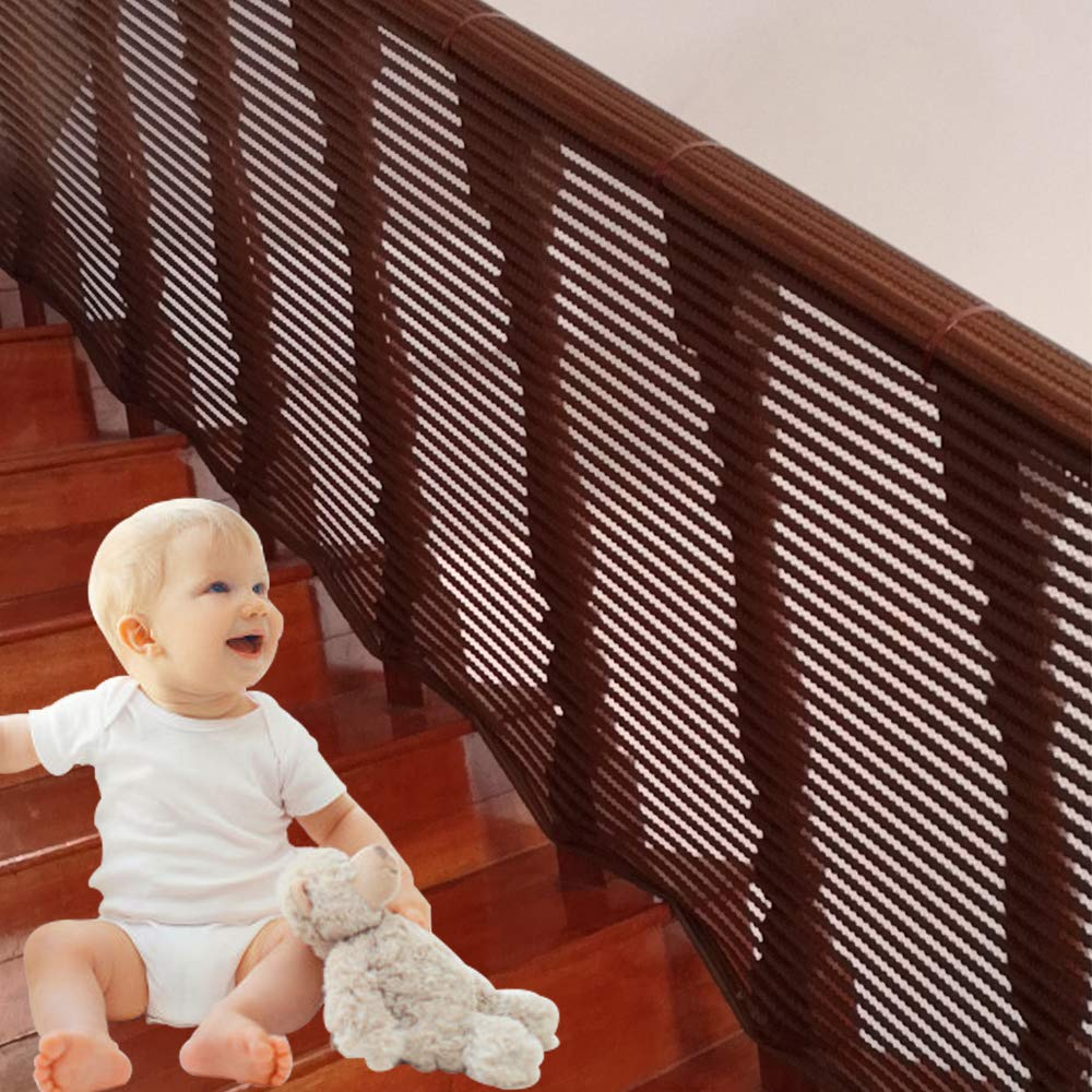 Stair Protection Net|Children's Anti-Fall Net Stairs|Stair Guard Rail|Safety Net| Patio Railing Safety Net|Stair Net|Balcony Railing Net