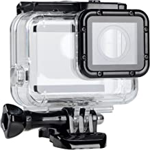 Suptig Replacement Waterproof Case Protective Housing for GoPro Hero 6 GoPro Hero 5 Outside Sport Camera for Underwater Use - Water Resistant up to 147ft (45m)