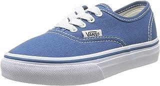 Vans Kids Authentic Skate Shoe- Navy - 12 Toddler