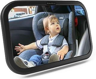 Luxus LED Auto Sicherheitsrückspiegel Baby Spiegel Rückspiegel Kindersitz Schale