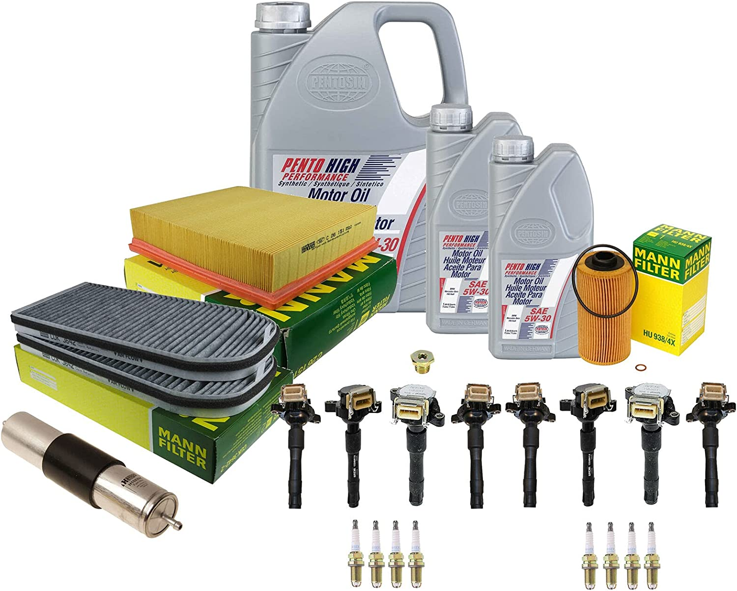 Complete Tune-Up kit with Beauty products Oil Compatible 740i Direct sale of manufacturer 740iL BMW E38