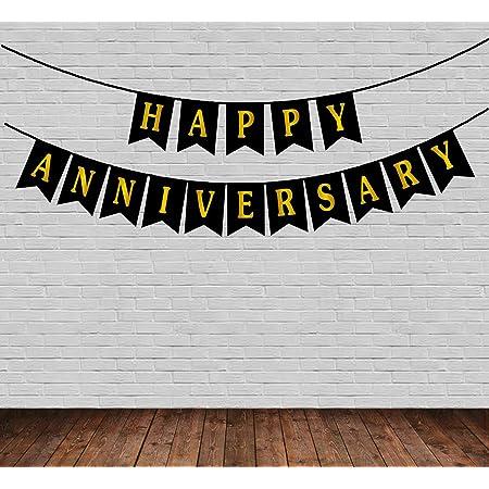 Partysanthe Happy Anniversary Banner