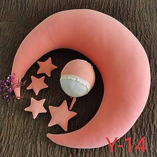 Nouveau-né Lune OREILLER Prop Posant chez Produits Set OREILLER Photographie Chapeau étoile Body bébé Pour la Studio Photo...