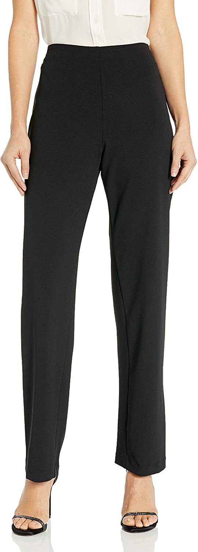 Alex Evenings Women's Slim Leg Dress Pant (Petite Regular Plus Sizes)