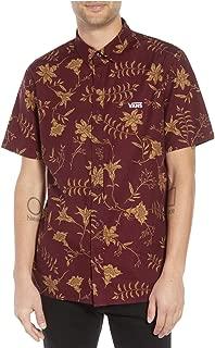Vans Men's Plants Short Sleeve Button Down Shirt (X-Large)
