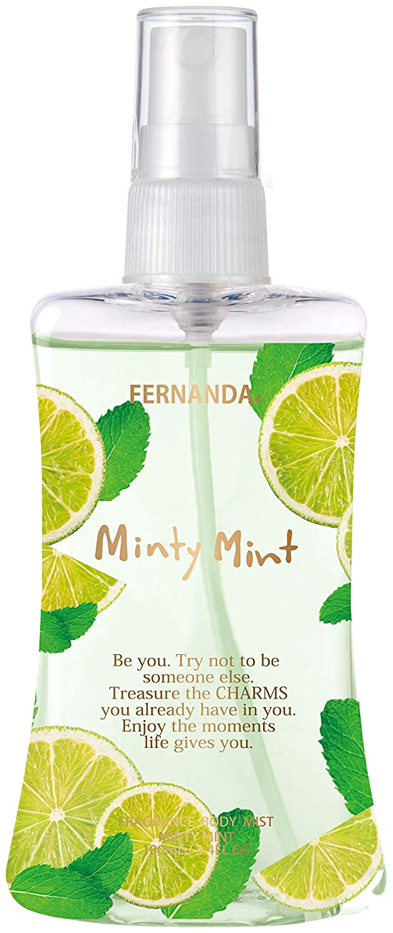 検出器グリルジョリーFERNANDA(フェルナンダ) Body Mist Minty Mint (ボディミスト ミンティミント)