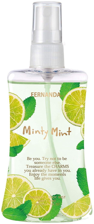 喜んでスノーケルテセウスFERNANDA(フェルナンダ) Body Mist Minty Mint (ボディミスト ミンティミント)