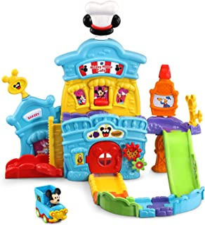 VTech Toot-Toot Drivers Mickey Mouse Café - Interactive playset for Kids - 80-543900 Multicolor