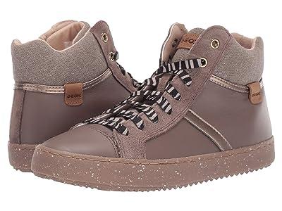 Geox Kids Geox x WWF Jr Kalispera 28 (Big Kid) (Smoke Grey) Girls Shoes