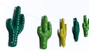 Nivas Cactus Garland/Felt/Long Lasting Durable