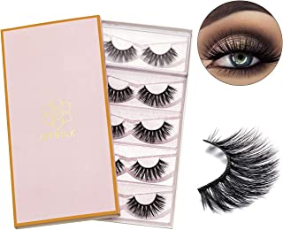 3D Eyelashes Mink Natural False Eyelashes Wispy Handmade Fake Eyelashes Fluffy