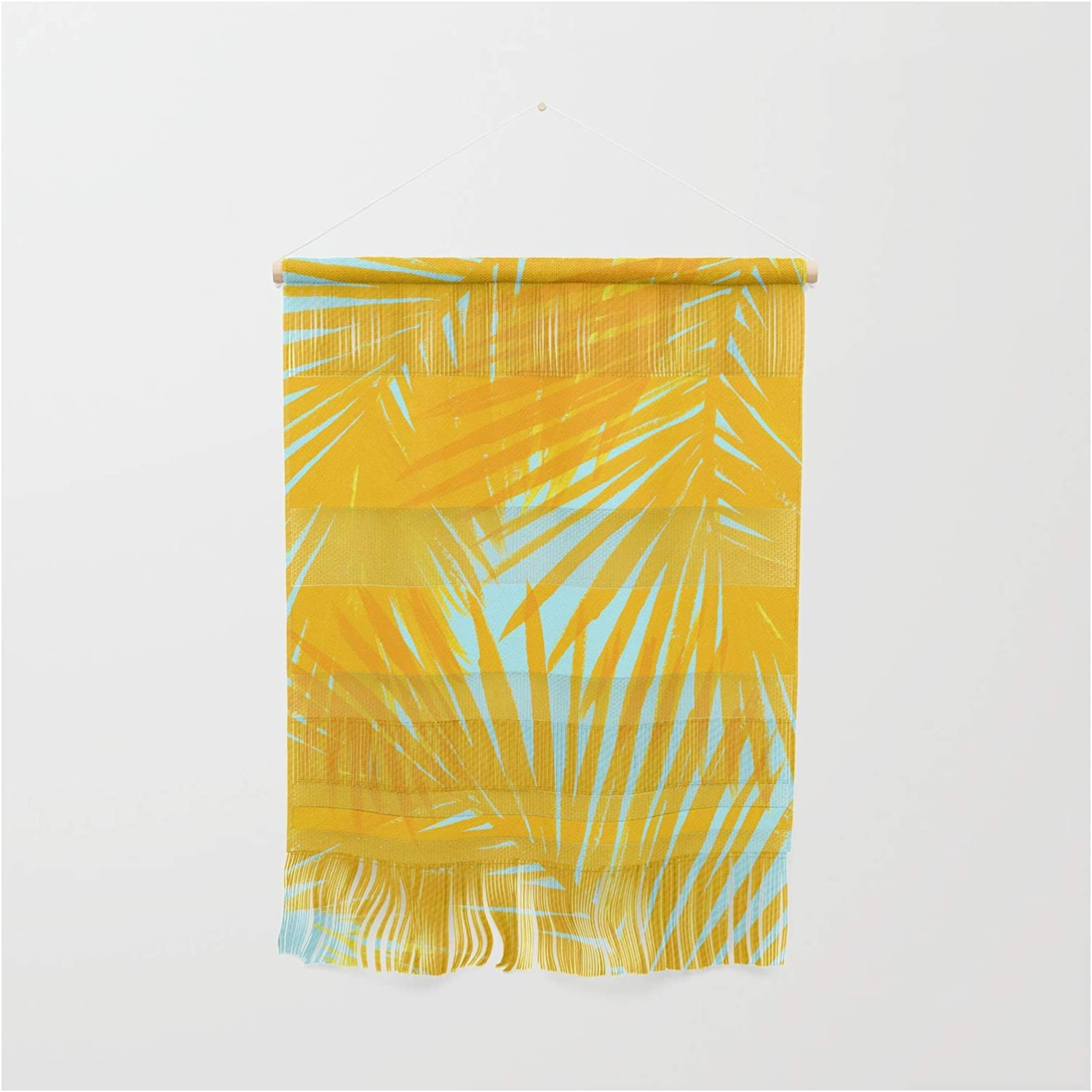 Society6 Palms Tangerine Ranking TOP12 Blue by on Hangi Caitlin Workman Wall Max 42% OFF