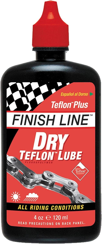 Finish Line Dry Teflon Bike Lube , Black, N/A