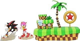 DIAMOND SELECT TOYS Sonic The Hedgehog: Sonic & Amy Playset PVC Diorama