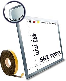 Cadre de montage en acier inoxydable pour tous les types de plaques de cuisson et de plaques vitrocéramiques sans découpe