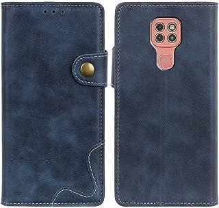 MOONCASE Moto G9 Play Case, Premium PU Leather Cover Wallet Pouch Flip Case Card Slots Magnetic Closure Mobile Phone Prote...