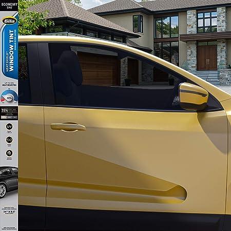 50/% Light and Ultra Light 5/% Black Limousine Black Asdomo Auto Window Darkening Film 50x600cm 1/% Medium