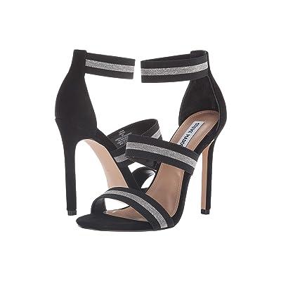 Steve Madden Carina Dress Sandal (Black/Silver) Women