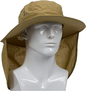 PIP Protective Industrial Products 396-425-KHK-XL PIP 396-425-KHK-XL Ranger Hat, Neck Shade, XL, Tan