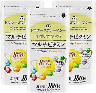 高品質マルチビタミン (2袋+1袋Free[計3袋] 1セット, 180粒)