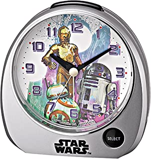 Rhythm watch STAR WARS sound alarm alarm clock Standard type