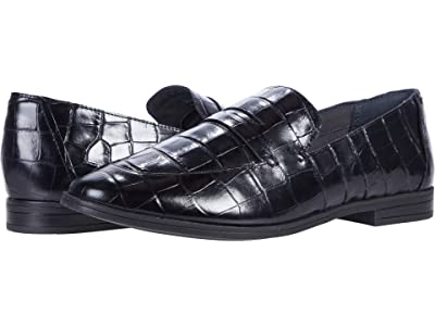 Rockport Perpetua Penny (Black Croco) Women