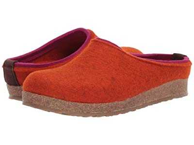 Haflinger Kris (Rost) Clog Shoes