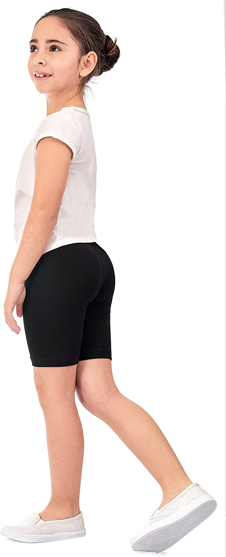 G3 DEAR SPARKLE Girls Shorts Bike Shorts 3 Pack Girl Stretch Kids Toddler Short