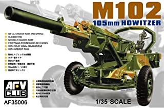 AFV Club M102 105mm Howitzer 1:35 Scale Military Model Kit