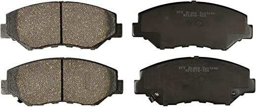 KFE Ultra Quiet Advanced KFE914-104 Premium Ceramic Front Brake Pad Set