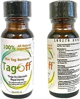 TAG OFF Skin Natural Skin Tag Remover Take Skin Tag Away Sani Skin Adios a Las Verrugas Sani Tag Skin Away Quita Verrugas Alternativa a Saniskin O Skim Away O Tag Away