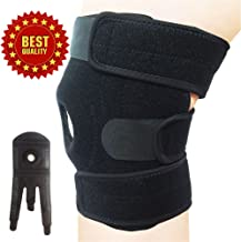 Best Knee Brace for Pain Relief - Neoprene Knee Brace for Women, Men, Kids, Orthopedic, Ostearthritis, Arthritis, Meniscus Tear, ACL, Running, Hiking, Walking, Football, Basketball, Volleyball