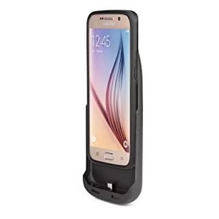 Tylt GS6EWCPCBK-T Energi Sliding Power Case for Galaxy S6/S6 Edge
