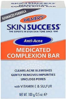 Palmer's Skin Success Anti-Acne Medicated Complexion Bar 3.50 oz (Pack of 2)