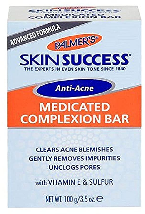 惑星寄生虫リファインPalmer's 皮膚成功抗菌薬用コンプレクションバー3.50オズ(2パック)
