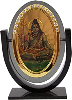 Creativegifts Lord Shiva Idol for Car Dashboard/Home/Office/Perfect Gift Item-3 x 2.5 inch