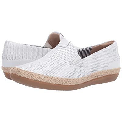 Clarks Danelly Iris (White Leather) Women