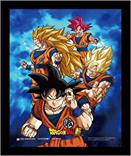 Yes Anime Official Licensed 3D Lenticular Poster Dragon Ball Super