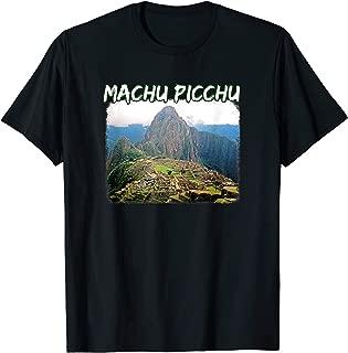 Machu Picchu Peru Climb T Shirt - Huayna Picchu Mountain Art