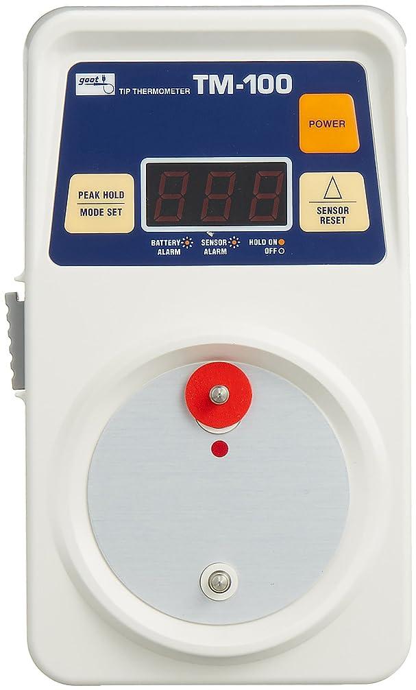 事前十分な砂漠goot こて先温度計 TM-100