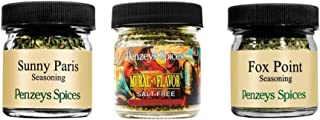 Sunny Paris .2 oz 1/4 cup jar, Mural Of Flavor .5 oz 1/4 cup jar and Fox Point .6 oz 1/4 cup jar Seasoning By Penzeys Spic...