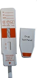 Single Panel Opium Drug Test (Opi, Opiates, Heroin, Codeine, Morphine) w/Cassette (40)