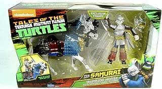 Teenage Mutant Ninja Turtles Samurai Warrior Horse with Usagi Yojimbo