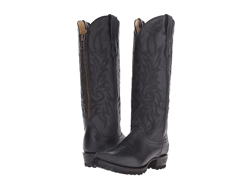 Stetson Lucy (Black Vamp) Cowboy Boots