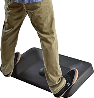 ACTIVE STANDING DESK MAT not flat ergonomic anti fatigue mat for office large contoured thick cushioned comfort floor massage mat for sit stand up desks industrial warehouse varied terrain