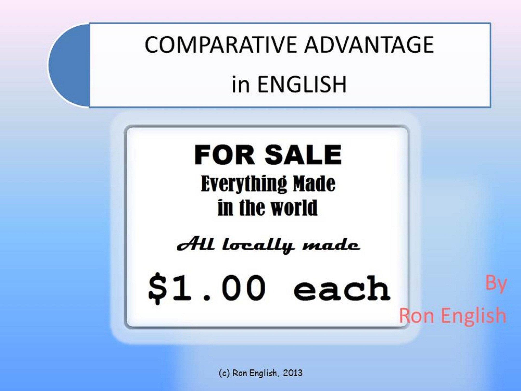 Comparative Advantage in English: for Economics (Math in English Book 5)