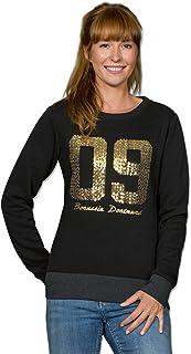 Borussia Dortmund 09-Sweatshirt mit Pailletten f/ür Frauen M