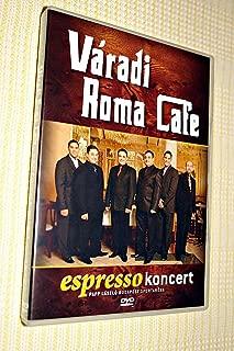 Varadi Roma Cafe: Espresso Koncert / Papp Laszlo Budapest Sportarena [European DVD Region 2 PAL] Váradi Roma Café