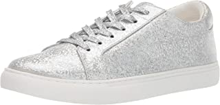 Kenneth Cole New York Womens Kam Fashion Sneaker Silver Size: 10