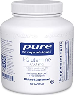 Pure Encapsulations l-Glutamine 850 mg | Supplement for Immune and Digestive Support, Gut Health and Lining Repair, Metabo...